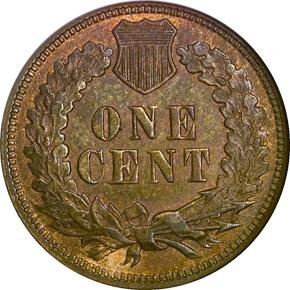 1872 1C MS reverse