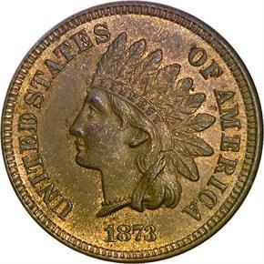 1873 1C MS obverse