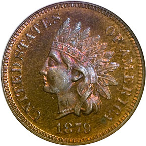 1879 1C PF obverse