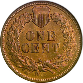 1882 1C MS reverse