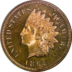 1888 1C PF obverse