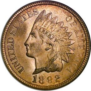 1892 1C MS obverse