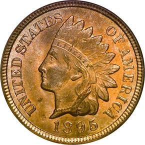 1895 1C MS obverse