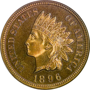 1896 1C PF obverse