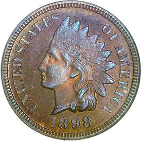 1898 1C PF obverse