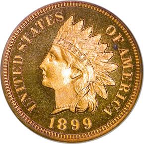 1899 1C PF obverse