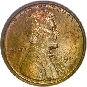 1909 VDB 1C PF obverse