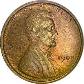 1909 LINCOLN 1C PF obverse