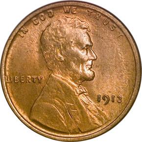 1913 1C MS obverse