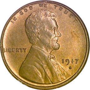 1917 S 1C MS obverse