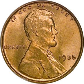1935 1C MS obverse