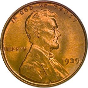 1939 1C MS obverse