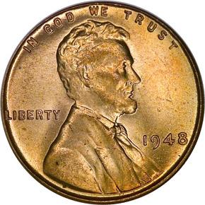 1948 1C MS obverse