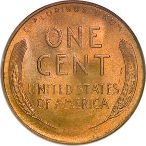 1948 S 1C MS reverse