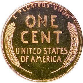 1957 1C PF reverse