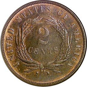 1873 OPEN 3 2C PF reverse