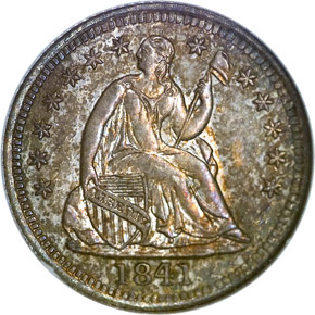 1841 H10C PF obverse