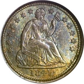 1841 O H10C MS obverse