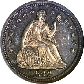 1842 H10C PF obverse
