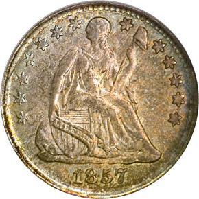 1857 H10C MS obverse