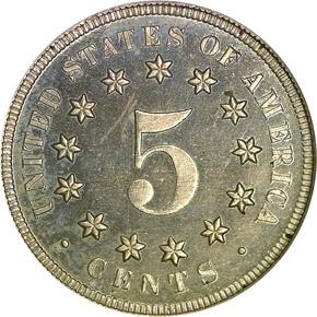 1868 5C PF reverse