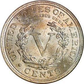 1909 5C MS reverse