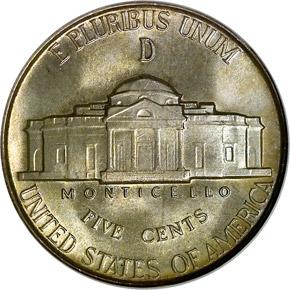 1945 D 5C MS reverse