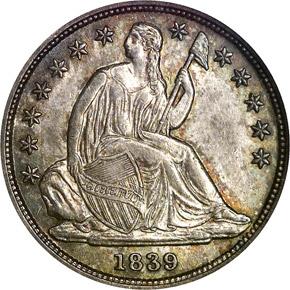1839 O 10C MS obverse