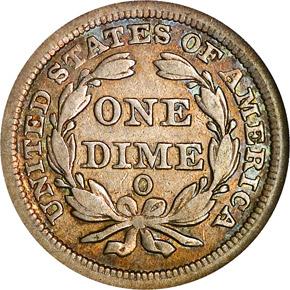 1845 O 10C MS reverse