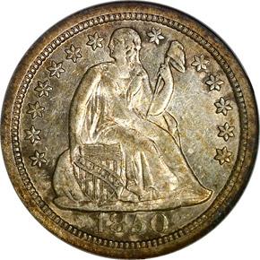 1850 O 10C MS obverse