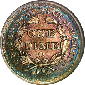 1851 O 10C MS reverse