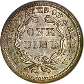 1859 O 10C MS reverse