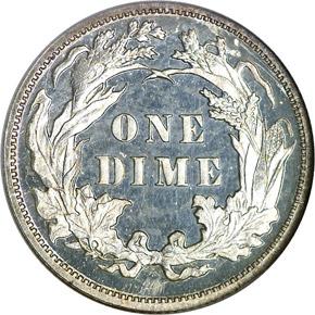 1890 10C PF reverse
