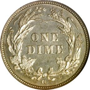 1893 O 10C MS reverse