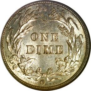1894 O 10C MS reverse