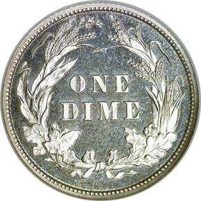 1897 10C PF reverse