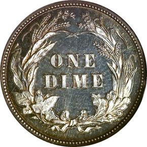 1899 10C PF reverse