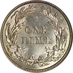 1902 10C MS reverse