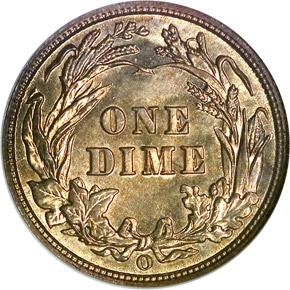 1902 O 10C MS reverse
