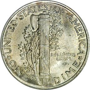 1923 10C MS reverse