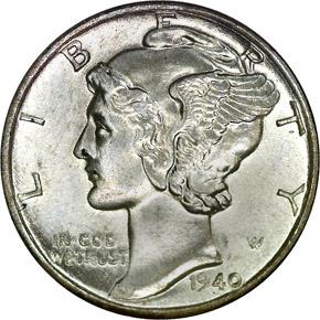 1940 10C MS obverse