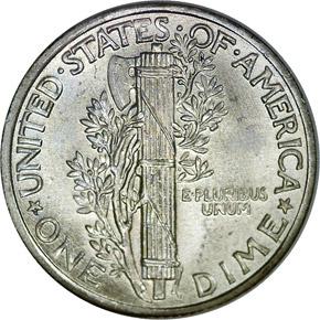 1940 10C MS reverse