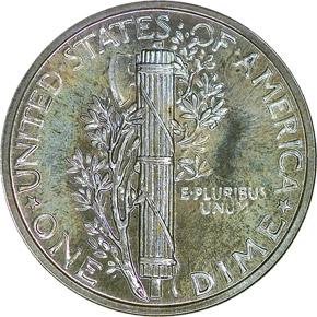 1940 10C PF reverse