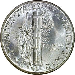 1942 S 10C MS reverse