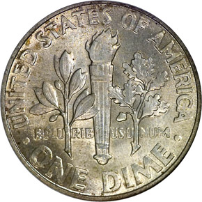 1946 10C MS reverse