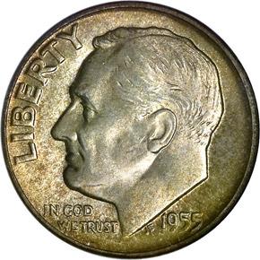 1955 10C MS obverse