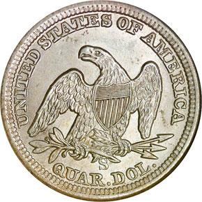 1862 S 25C MS reverse