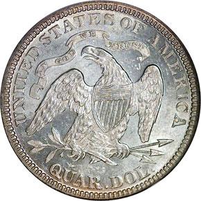 1881 25C MS reverse