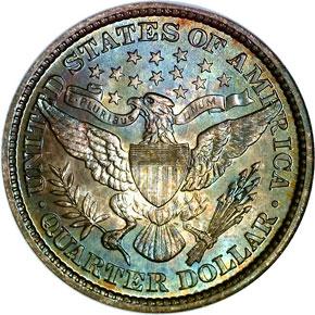 1895 25C MS reverse