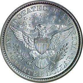 1895 S 25C MS reverse